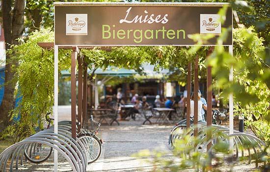 Living Hotel Weissensee Berlin Biergarten