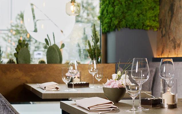Living Hotel Duesseldorf Restaurant Agatas