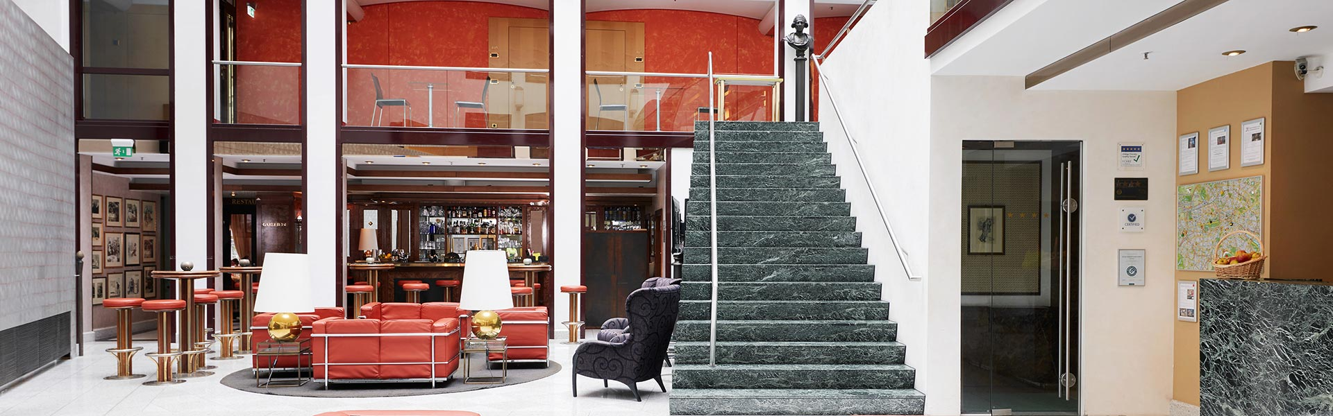 Living Hotel Großer Kurfürst Berlin Serviced Apartments Lobby