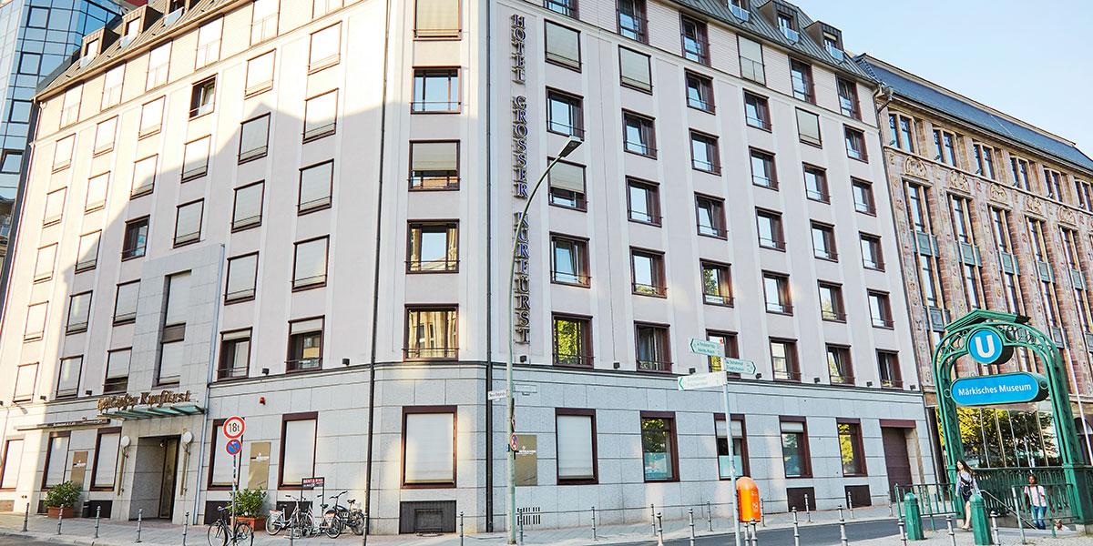 Living Hotel Großer Kurfürst Berlin Lage U-Bahn Serviced Apartments