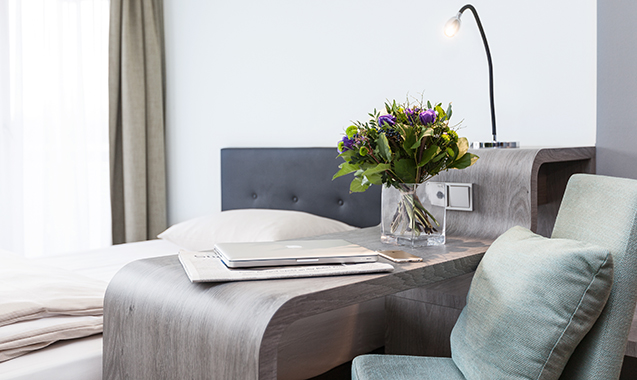 Living-Hotel-Apartments-Johann-Wolfgang-Frankfurt-Economy-Schreibtisch