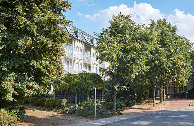 Living Hotels Apartments Johann Wolfgang Frankfurt Fassade