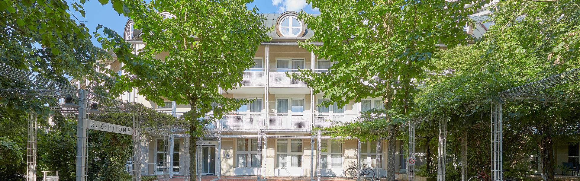 Living Hotel Appartements Johann Wolfgang Frankfurt Außenansicht