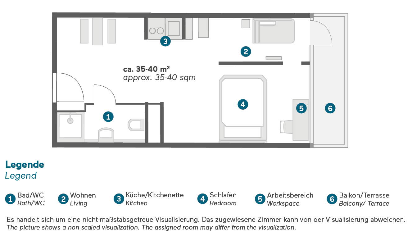 living-hotel-appartments-johann-wolfgang-frankfurt-economy-grundriss