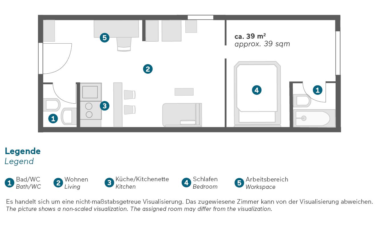 living-hotel-prinzessin-elisabeth-münchen-delxue-grundriss