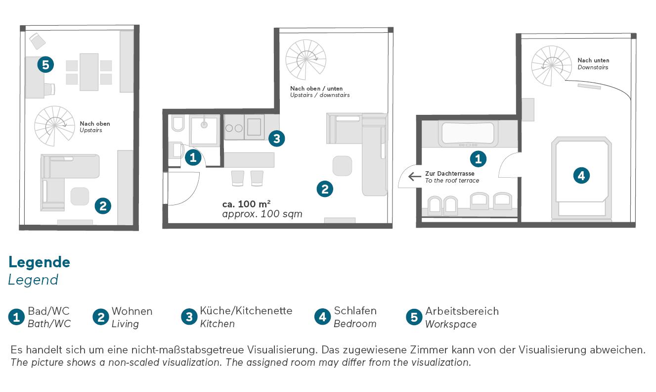 living-hotel-prinzessin-elisabeth-münchen-penthouse-grundriss