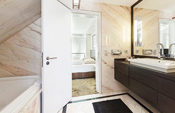 Living Hotel Prinzessin Elisabeth München Penthouse Suite Badezimmer