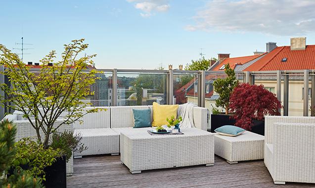 Living-Hotel-Prinzessin-Elisabeth-München-Penthouse-Suite-Dachterrasse