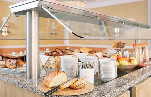 Living Hotel am Olympiapark Munchen Frühstück