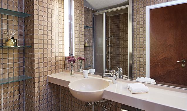 Living-Hotel-am-Olympiapark-München-Economy-Bad