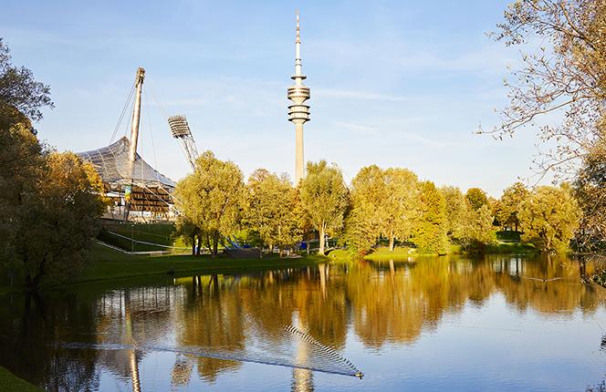 Living Hotel am Olympiapark München Lage