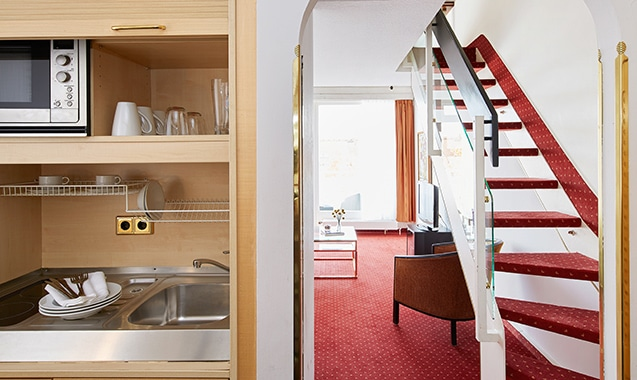 Living Hotel am Olympiapark München Business Bad