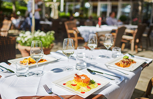 Living Hotel am Olympiapark Munchen Restaurant
