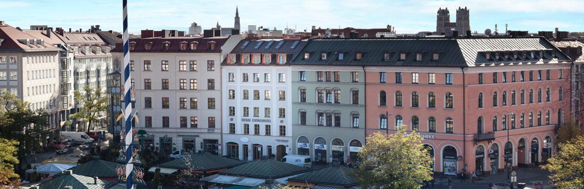 living hotel hotel am viktualienmarkt in m nchen. Black Bedroom Furniture Sets. Home Design Ideas
