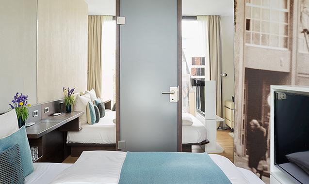 Living-Hotel-Das-Viktualienmarkt-München-Deluxe-Bett