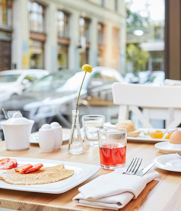Living Hotel Das Viktualienmarkt München Frühstück