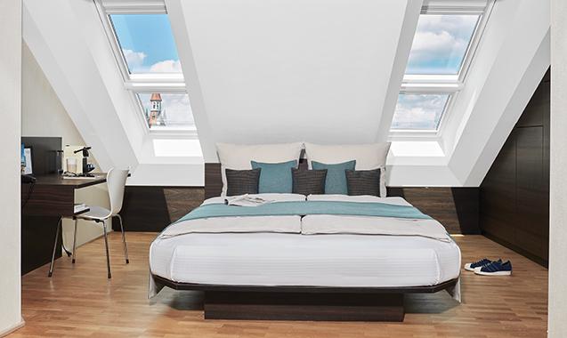 Living-Hotel-Das-Viktualienmarkt-München-Junior-Suite-Bett