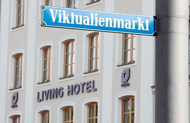 Living Hotel Das Viktualienmarkt München Lage Umgebung