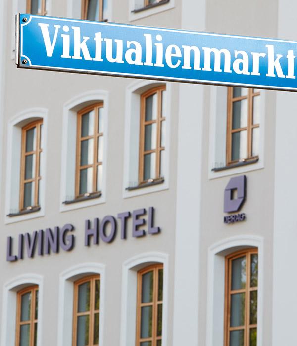 Living Hotel Das Viktualienmarkt Lage