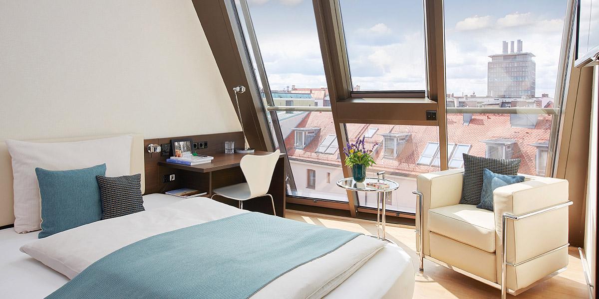 Living Hotel Das Viktualienmarkt Zimmer