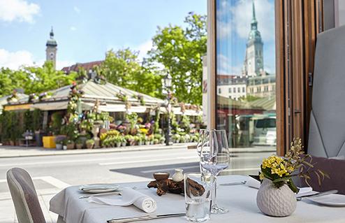 Living Hotel Das Viktualienmarkt Munich Gastronomie