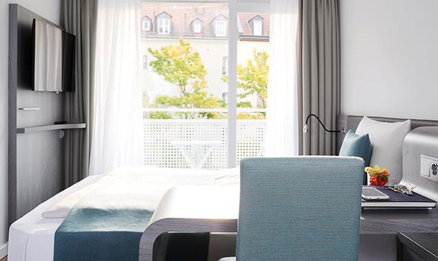 Living-Hotel-Nuernberg-Business-Bett