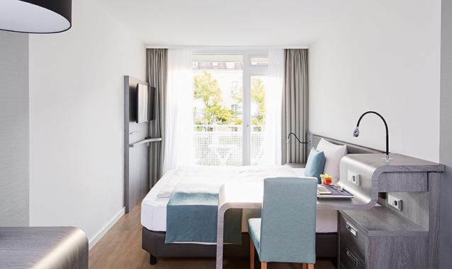 Living-Hotel-Nuernberg-Business-Schlafzimmer