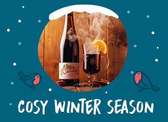 Mulled wine for cold winter days
