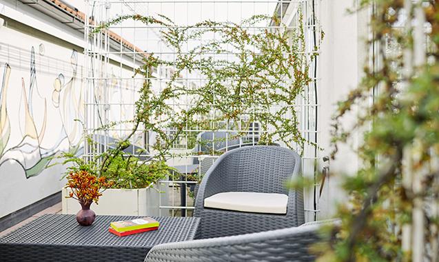 Living-Hotel-Nuernberg-Maisonette-Balkon