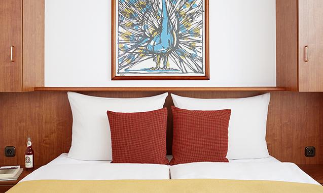 Living-Hotel-Nuernberg-Superior-Bett