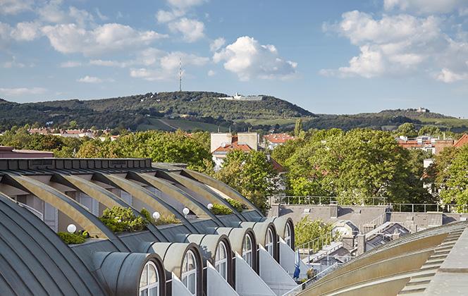 Living Hotel Kaiser Franz Joseph Wien Aussicht