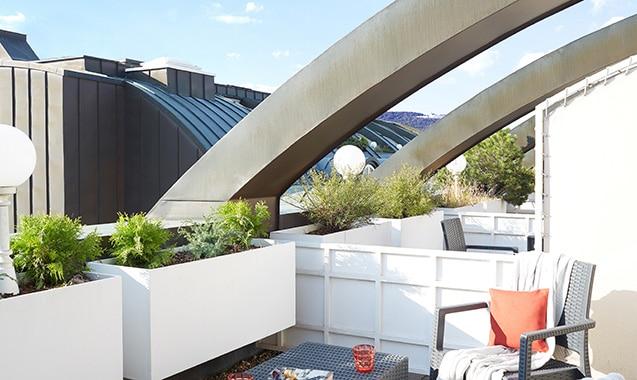 Living Hotel Kaiser Franz Joseph Wien Superior Maisonette Balkon