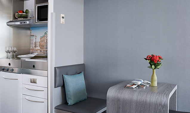 Living-Hotel-Kaiser-Franz-Joseph-Wien-Business-Plus-Kitchenette