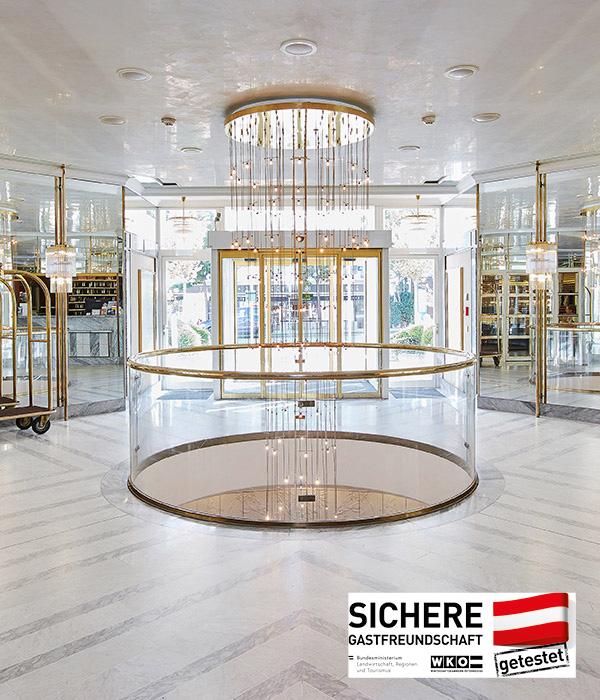 Living Hotel Kaiser Franz Joseph Wien Lobby