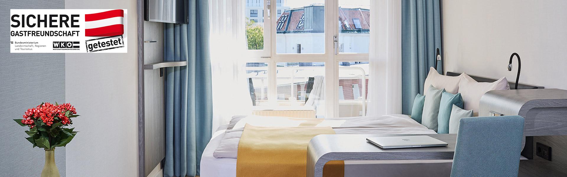 Living Hotel Kaiser Franz Joseph Wien Zimmer Balkon