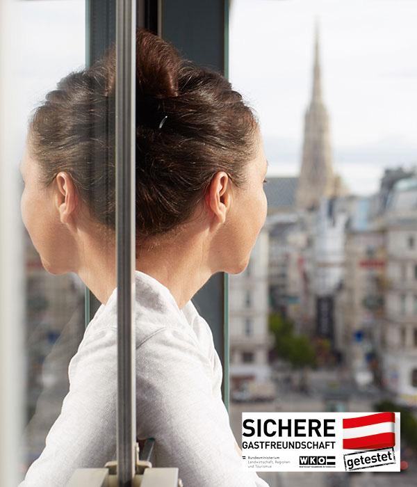 Living Hotel an der Oper Wien Ausblick