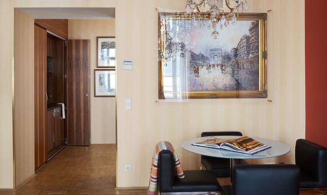 Living-Hotel-an-der-Oper-Wien-Executive Suite-Wohnraum
