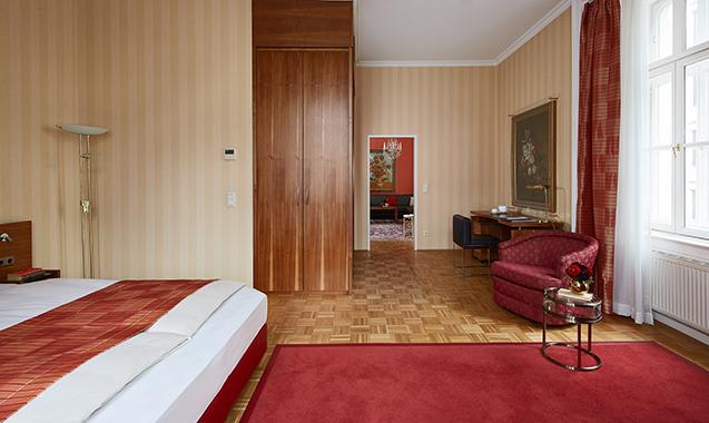 Living Hotel an der Oper Wien Executive Suite Wohnraum