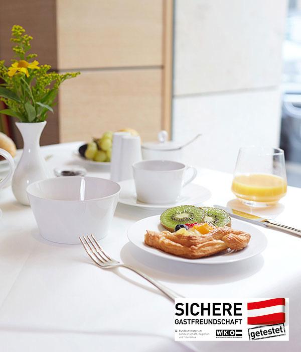 Living Hotel an der Oper Wien Frühstück