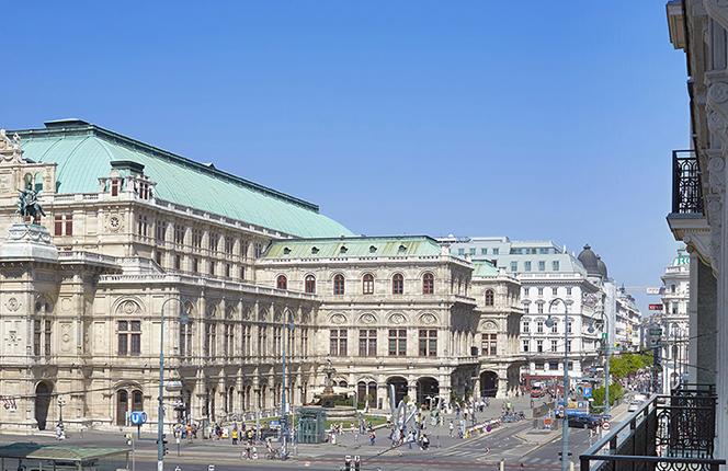 Living Hotel an der Oper Wien Lage