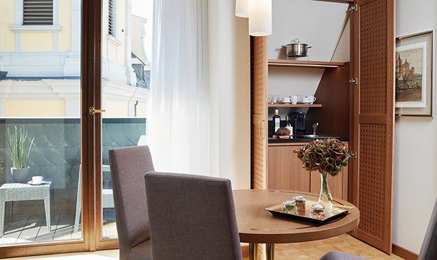 Living Hotel De Medici Düsseldorf Turmsuite
