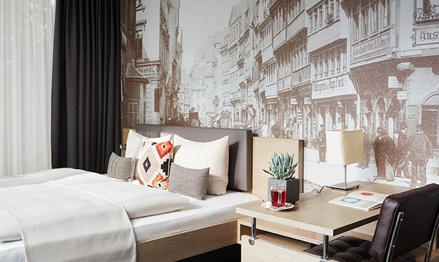 Living-Hotel-Frankfurt-Apartment-Doppel-Deluxe-Bett2