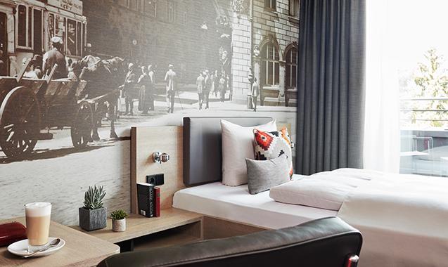 Living-Hotel-Frankfurt-Apartment-Einzel-Deluxe- Bett