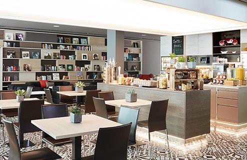 Living Hotel Frankfurt Gastronomie