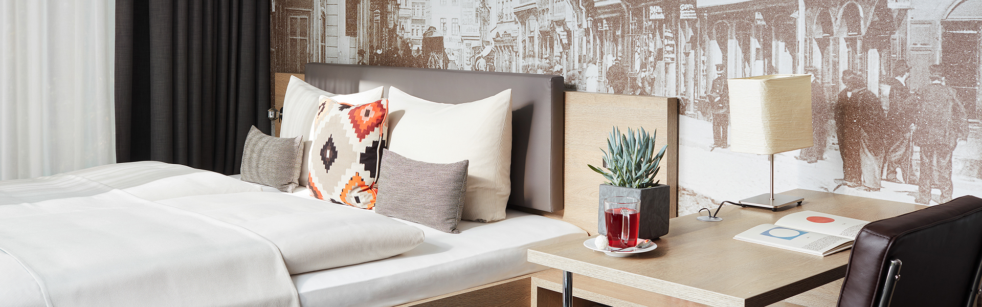 Living Hotel Frankfurt Zimmer 2
