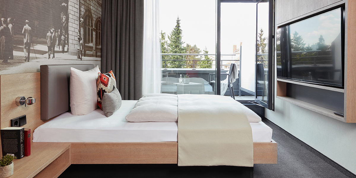 Living Hotel Frankfurt Zimmer